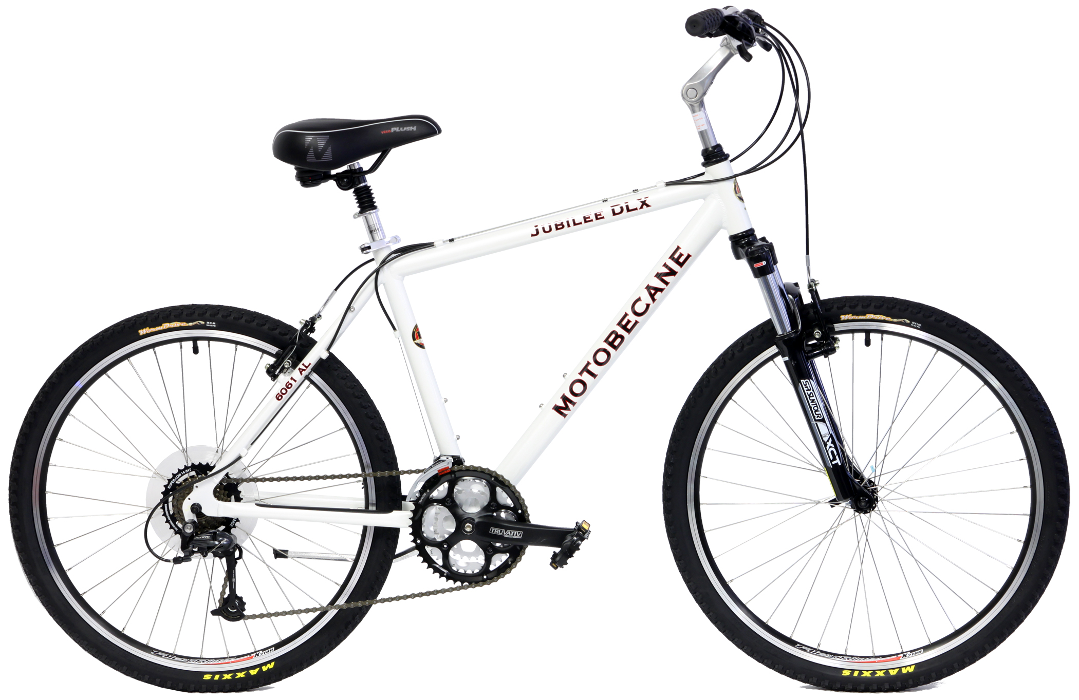 Comfort Bikes With Disc Brakes jubilee dlx wht