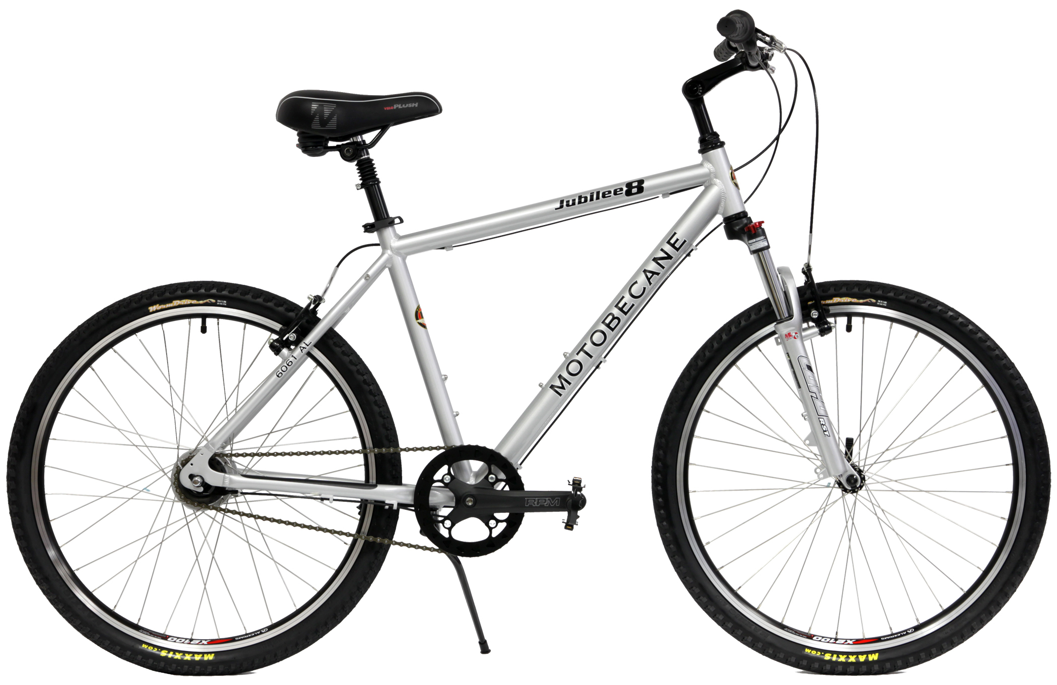 Bikes For Men jubilee men silver